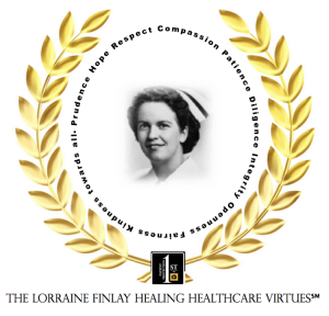 Lorraine Finlay Healing Healthcare Virtues(sm)